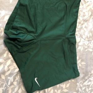 Green Nike Spandex
